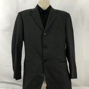 Hugo Boss 38s Grey Virgin Wool Suit Jacket